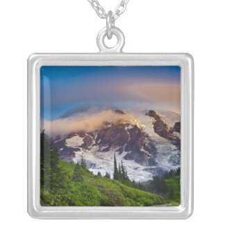 Morning Sun Silver Plated Necklace
