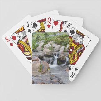 USA, Washington, Mt. Rainier National Park 3 Playing Cards