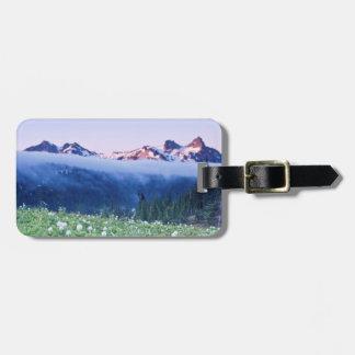 USA, Washington, Mt. Rainier National Park 4 Bag Tag