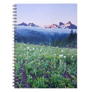 USA, Washington, Mt. Rainier National Park 4 Notebook