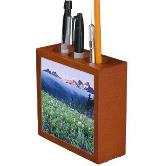 USA, Washington, Mt. Rainier National Park 4 Pencil Holder