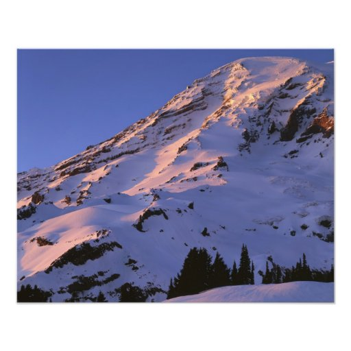 USA, Washington, Mt. Rainier National Park Photo Art