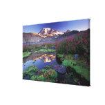 USA, Washington, Mt. Rainier NP, sunrise, Canvas Print
