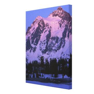 USA, Washington, Mt. Shuskan in North Cascades Canvas Print