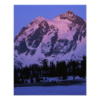USA, Washington, Mt. Shuskan in North Cascades Poster