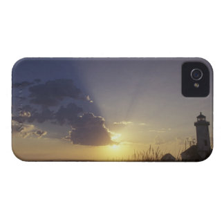 USA, Washington, near Port Townsend. Point iPhone 4 Cover
