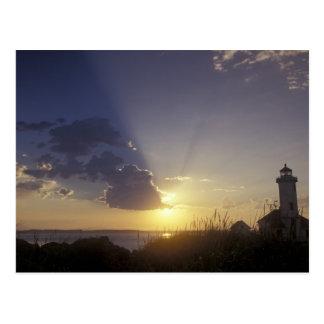 USA, Washington, near Port Townsend. Point Postcard