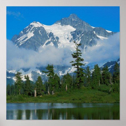 USA, Washington, North Cascades National Park 10 Poster