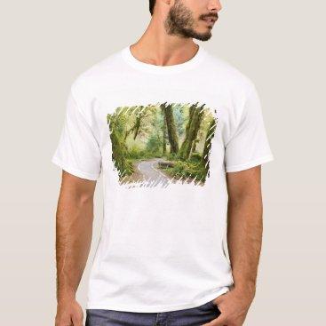 Christmas Themed USA, Washington, Olympic National Park, Hiking T-Shirt