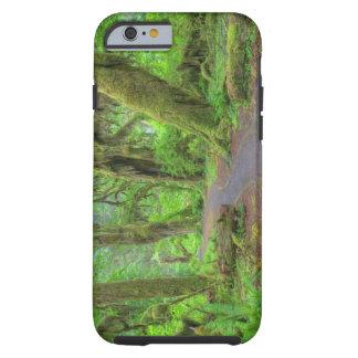 USA, Washington, Olympic National Park, Hoh Rain Tough iPhone 6 Case