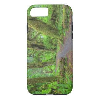 USA, Washington, Olympic National Park, Hoh Rain iPhone 7 Case