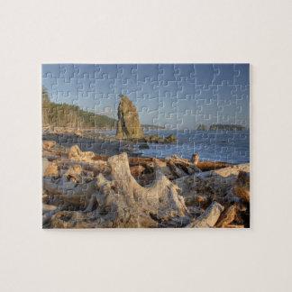 USA, Washington, Olympic National Park, Rialto Jigsaw Puzzle