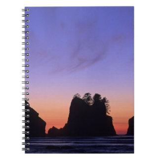 USA, Washington, Olympic National Park, Shi-shi Notebook