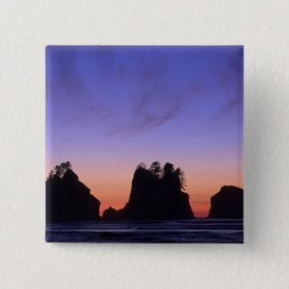 USA, Washington, Olympic National Park, Shi-shi Pinback Button