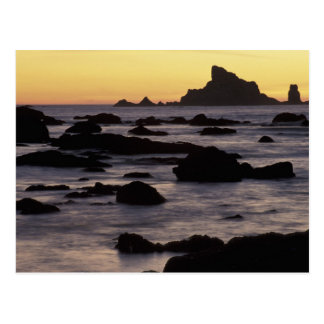 USA, Washington, Olympic Nat'l Park, Seastacks Postcard