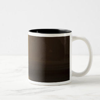 USA, Washington, Olympic Nat'l Park, Sunset, Two-Tone Coffee Mug
