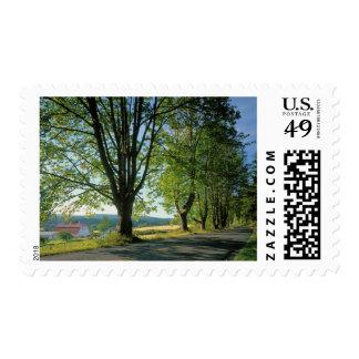 USA, Washington, Orcas Island, Crow Valley Stamps