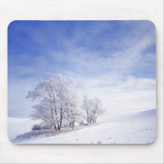 USA, Washington, Palouse Area, Frosted Black Mouse Pad