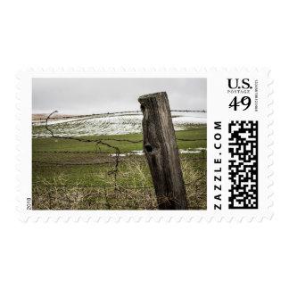USA, Washington, Palouse Region Postage Stamp