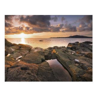 USA, Washington, San Juan Islands.  A dramatic 2 Postcard