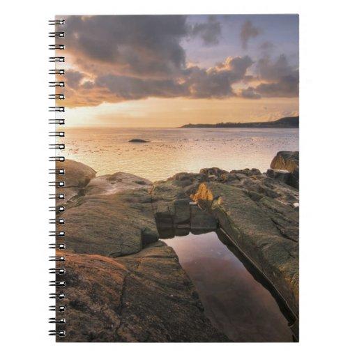 USA, Washington, San Juan Islands.  A dramatic 2 Spiral Notebook