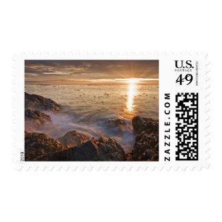USA, Washington, San Juan Islands.  A dramatic Postage
