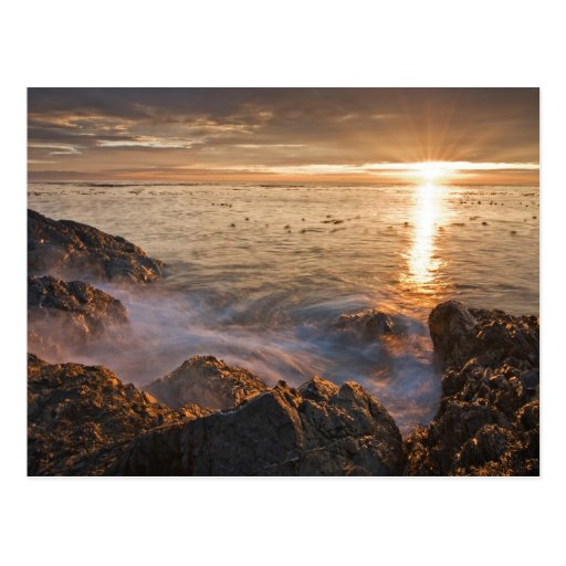 USA, Washington, San Juan Islands.  A dramatic Postcards