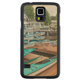 USA, Washington, San Juan Islands Carved Maple Galaxy S5 Case