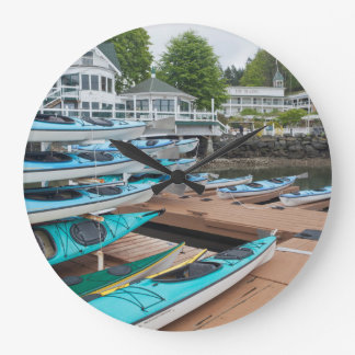 USA, Washington, San Juan Islands Large Clock