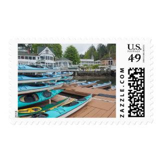 USA, Washington, San Juan Islands Stamp