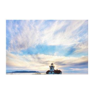 USA, Washington, San Juan Islands. Sunset 2 Canvas Print