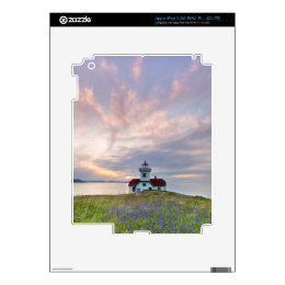 USA, Washington, San Juan Islands. Sunset iPad 3 Decal