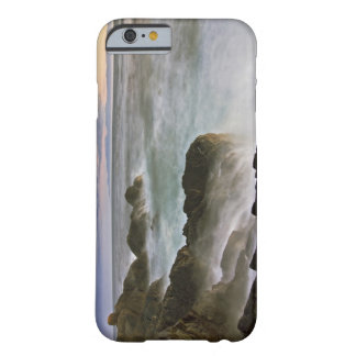 USA, Washington, San Juan Islands.  Waves crash Barely There iPhone 6 Case