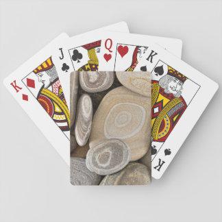 USA, Washington, Seabeck. Close-Up Of Beach 2 Playing Cards