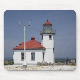 USA, Washington, Seattle, Alki Point Lighthouse, 2 Mouse Pad