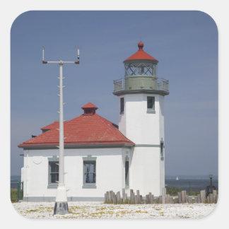 USA, Washington, Seattle, Alki Point Lighthouse, 2 Sticker