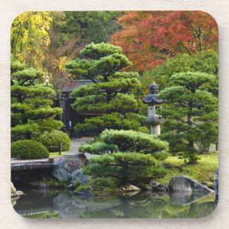 USA, Washington, Seattle, Arboretum, Japanese Beverage Coaster