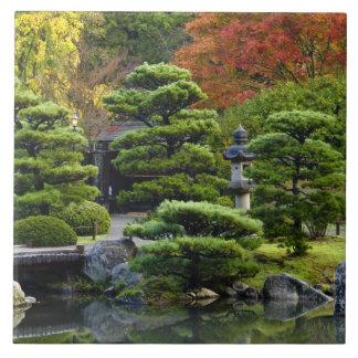 USA, Washington, Seattle, Arboretum, Japanese Tile