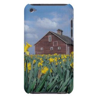 USA, Washington, Skagit Valley. Field of iPod Case-Mate Case