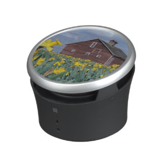 USA, Washington, Skagit Valley. Field of Bluetooth Speaker