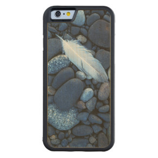 USA, Washington, Snake River Gravel Bar Carved Maple iPhone 6 Bumper Case