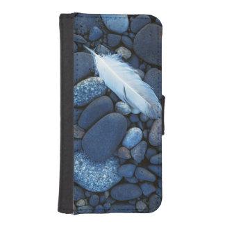 USA, Washington, Snake River Gravel Bar Wallet Phone Case For iPhone SE/5/5s