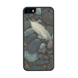 USA, Washington, Snake River Gravel Bar Wood Phone Case For iPhone SE/5/5s