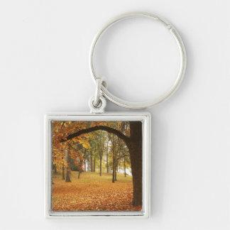 USA, Washington, Spokane, Manito Park, Autumn 2 Keychain