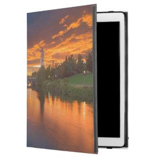 USA, Washington, Spokane, Riverfront Park iPad Pro Case