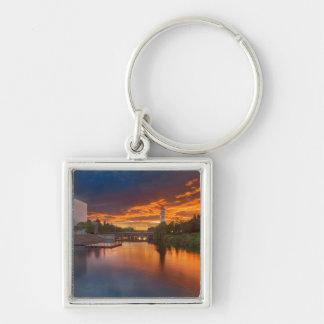 USA, Washington, Spokane, Riverfront Park Keychain
