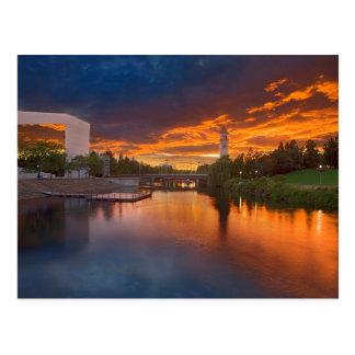USA, Washington, Spokane, Riverfront Park Postcard