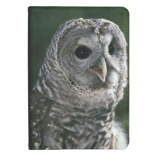 USA, Washington State. Barred Owl (Strix varia) Kindle Touch Case