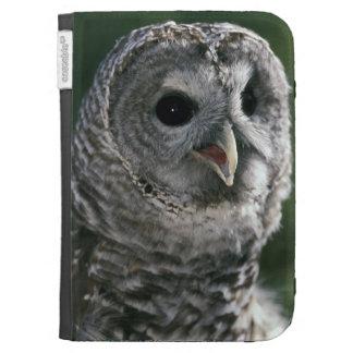 USA, Washington State. Barred Owl (Strix varia) Cases For The Kindle