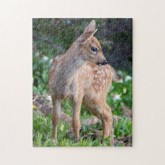 USA Washington State Blacktail Deer Fawn Jigsaw Puzzles
